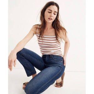 NWT MADEWELL Slim Straight Blue Jeans